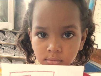 Ketellen Umbelino de Oliveira Gomes, de 5 anos.