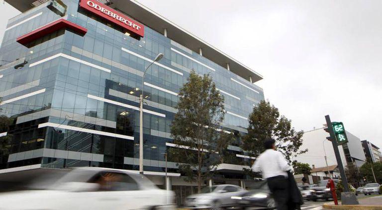 A sede da construtora Odebrecht em Lima (Peru).