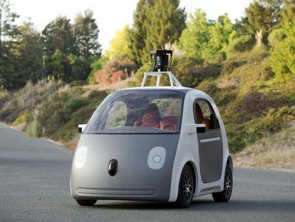Protótipo do carro sem motorista do Google.