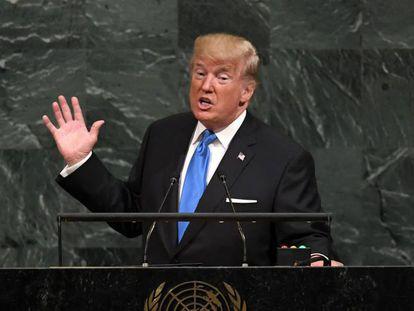 Donald Trump estreia na Assembleia Geral da ONU, nesta terça-feira, em NY.