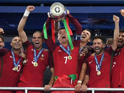 Portugal triunfa e consola Cristiano Ronaldo