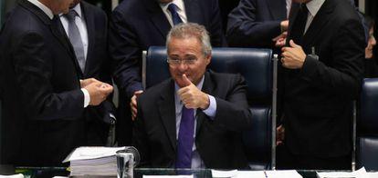 O senador Renan Calheiros (PMDB-AL).