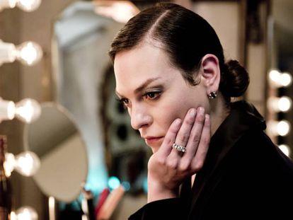 Daniela Vega, no papel de Marina em 'Uma mulher fantástica'.