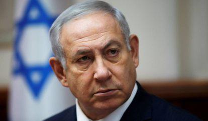 O primeiro-ministro israelense, Benjamin Netanyahu, em 25 de novembro, em Jerusalém.