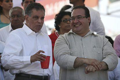 Fidel Herrera, reapareceu em público durante o Carnaval Veracruz 2013 e esteve acompanhado do então governador Javier Duarte em um camarote particular.