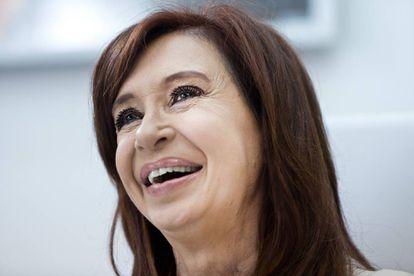 A ex-presidenta argentina Cristina Fernández de Kirchner