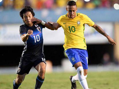 Brasil x África do Sul: Neymar é o capitão.