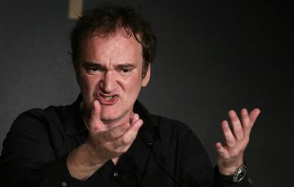 Quentin Tarantino, no Festival de Cannes.