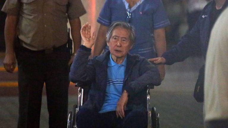 Alberto Fujimori em janeiro