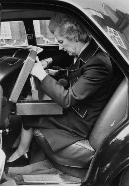 Margareth Thatcher, em uma imagem de outubro de 1976.