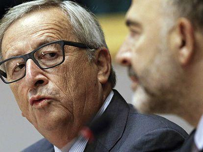 O presidente da Comissão Europeia Jean-Claude Juncker