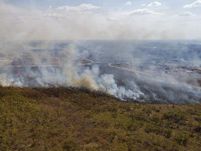 Incêndio em Cuiabá.