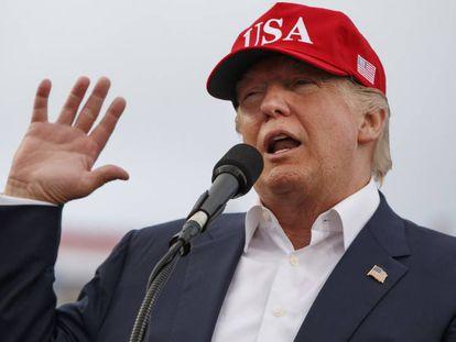 Trump em discurso