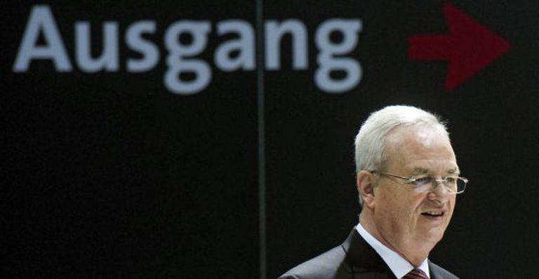 O ex-presidente da Volkswagen, Martin Winterkorn.
