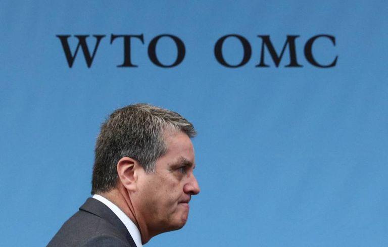 O diretor-geral da OMC, Roberto Azevêdo