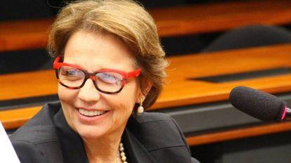 A deputada e candidata à reeleição Tereza Cristina (DEM)