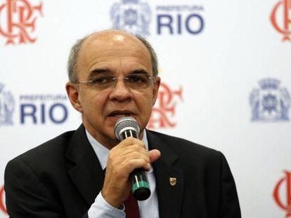 Eduardo Bandeira de Mello foi presidente do Flamengo entre 2013 e 2018.