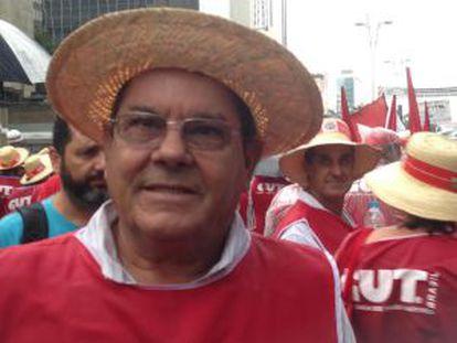 O vereador petista Itaberá Antônio de Oliveira, o Serrinha.