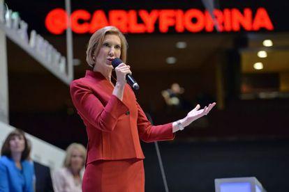 Carly Fiorina, candidata republicana à Casa Branca.