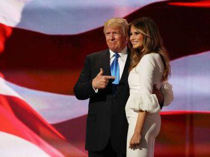 Mulher do candidato republicano se apresenta com um discurso amável, que copia parcialmente o da atual primeira-dama