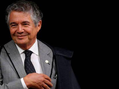 O ministro Marco Aurélio em abril deste ano.