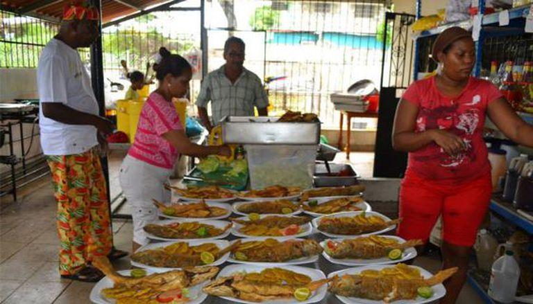 O restaurante Donde Fanso, no distrito panamenho de Río Abajo.