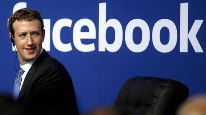 Mark Zuckerberg em uma imagem de arquivo