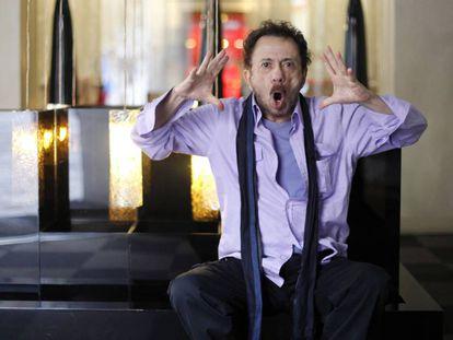 Tom Zé, compositor e poeta em um hotel em Madri em 2011.