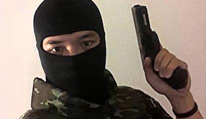 Jakrapanth Thomma, suspeito de abrir fogo na cidade de Nakhon Ratchasima.