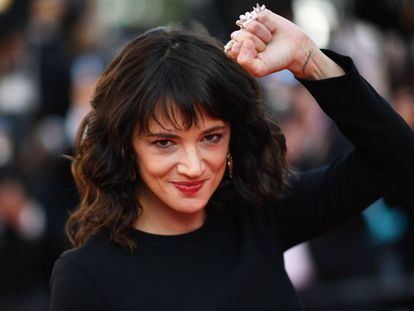 A atriz Asia Argento.
