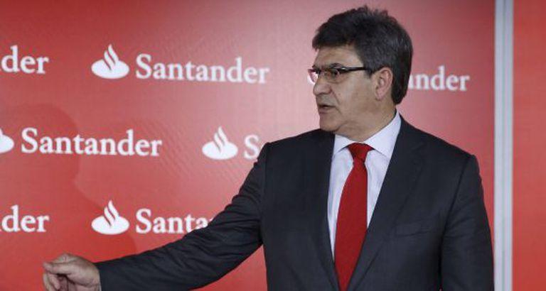 O diretor-presidente do Banco Santander, José Antonio Álvarez.