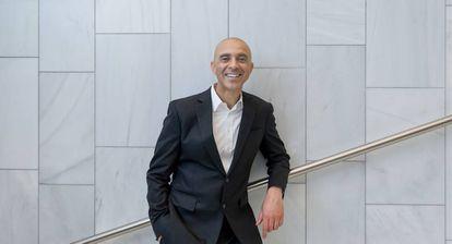 David Roberts após sua palestra na Oslo Innovation Week.