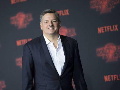 O diretor de conteúdo da Netflix, Ted Sarandos