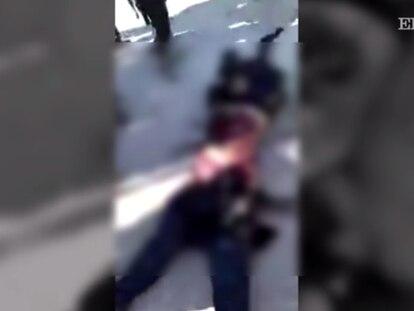 Imagens do cadáver mutilado de uma combatente curda disparam a barbárie da guerra síria