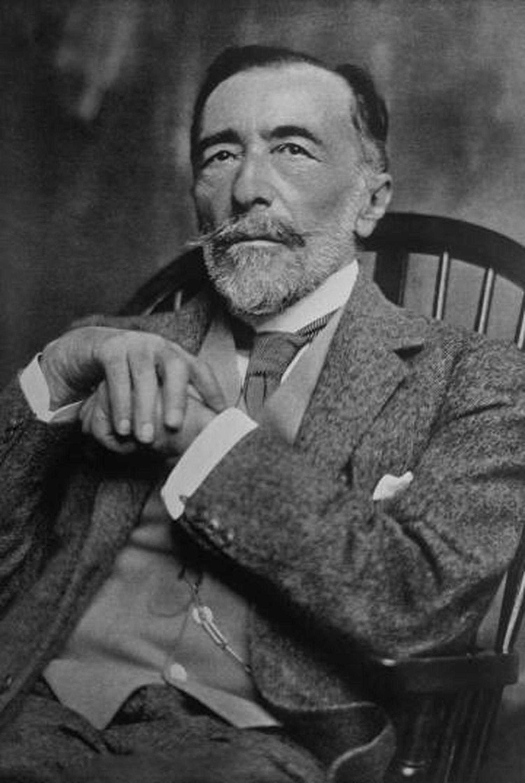 Joseph Conrad em 1919.