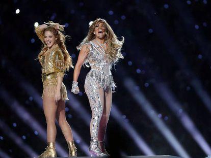 Shakira e J-Lo.