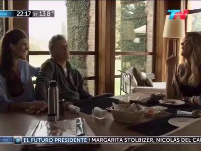 """Há um ano, Mauricio Macri se referiu a Donald Trump como """"pirado""""."""