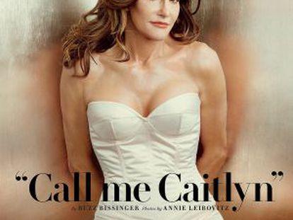 Caitlyn Jenner, na capa da 'Vanity Fair'.