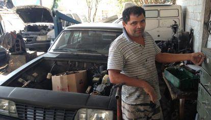 """""""O PT acabou"""", diz o mecânico Roberto Gonzaga."""