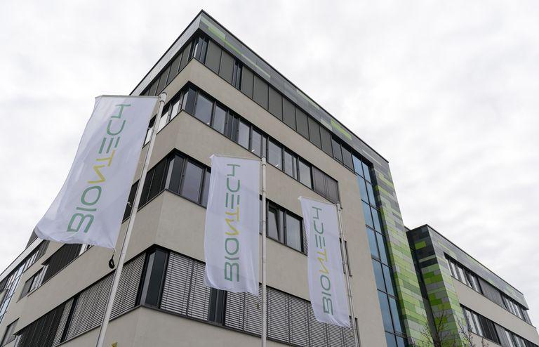 Sede da empresa alemã BioNTech em Mainz, no oeste da Alemanha.