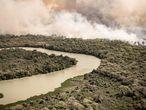 O incêndio é um dos maiores da história do Pantanal