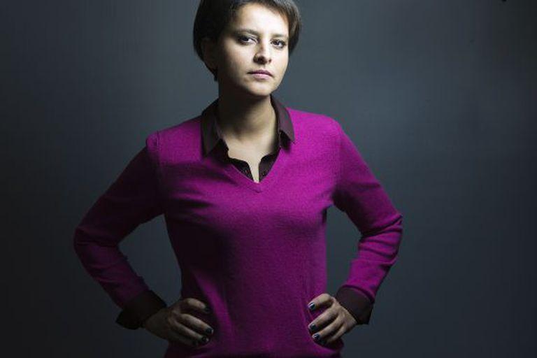 Najat Vallud-Belkacem, em janeiro, antes de nomeada a ministra dos direitos das mulheres, urbanismo, juventude e esportes.