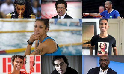 Grupo de esportistas endossam carta contra ameaças à democracia.