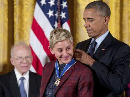 Presidente entregou pela última vez as Medalhas Presidenciais da Liberdade, principal comenda civil dos EUA