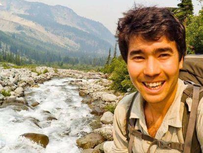 John Allen Chau, em uma foto de sua conta no Instagram.