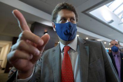 Ricardo Salles, ministro do Meio Ambiente, em evento em Brasília neste 19 de maio.