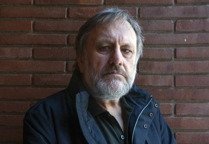 O filósofo e sociólogo esloveno Slavoj Žižek.