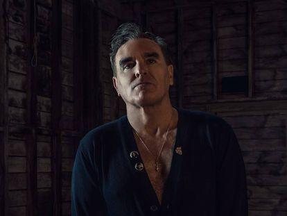 O músico britânico Morrissey.