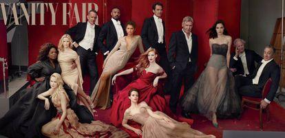 As estrelas clicadas por Annie Leibovitz para a edição especial da 'Vanity Fair' sobre Hollywood.