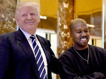 Kanye West reúne-se com Donald Trump